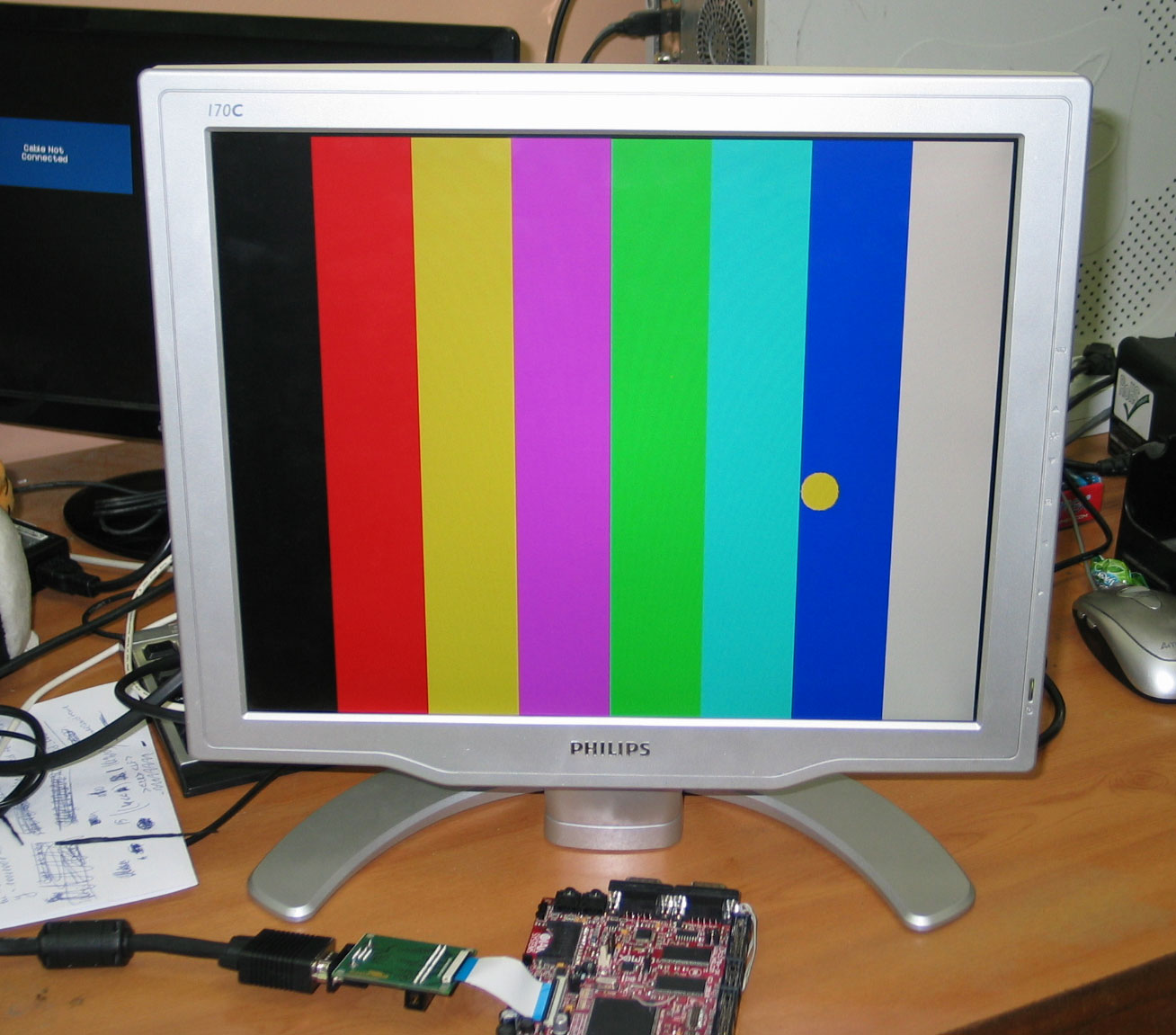 Low Cost Lcd To Vga Adapter Olimex R 2r Ladder Circuit Diagram Image
