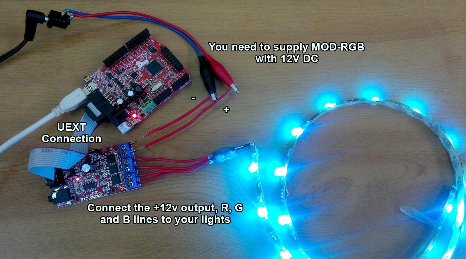 Arduino led hook up
