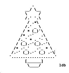 Weekend Programming Challenge – Week #66 Christmas Tree ASCII art ...