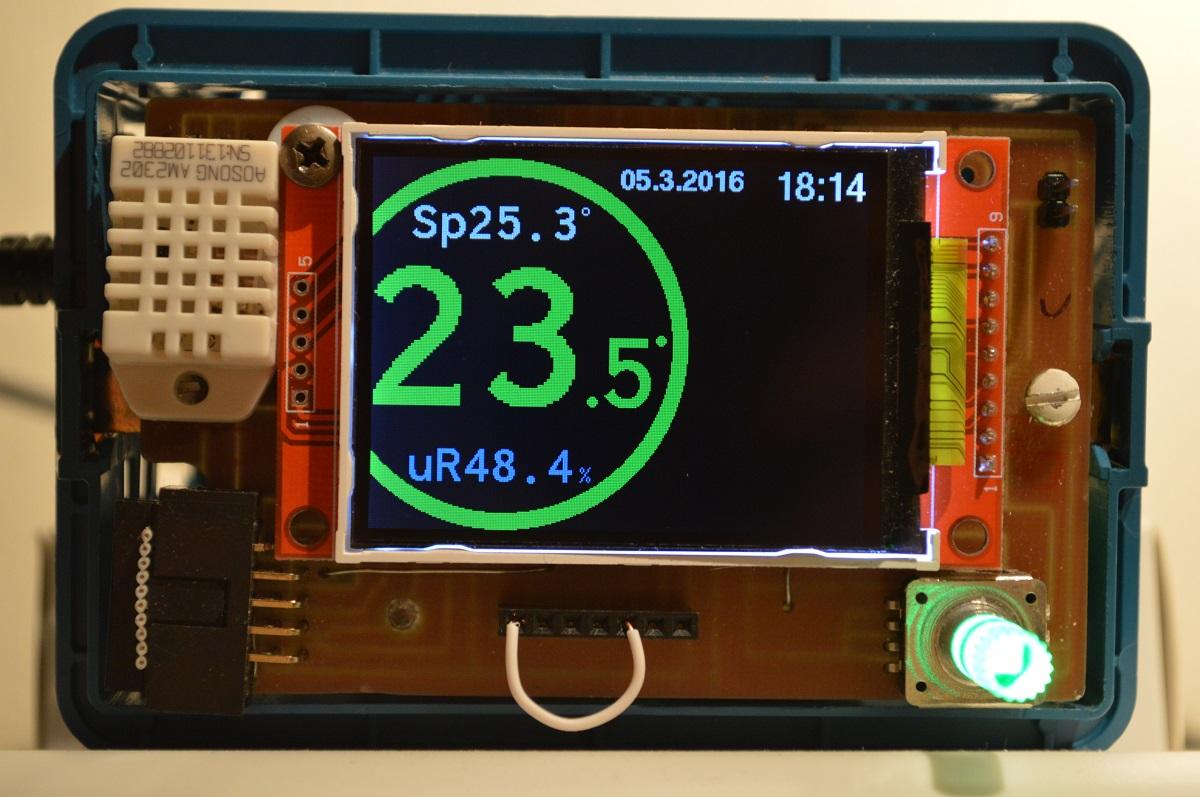 Ben noto Smart WiFi Thermostat with MOD-WIFI-ESP8266-DEV | olimex II92