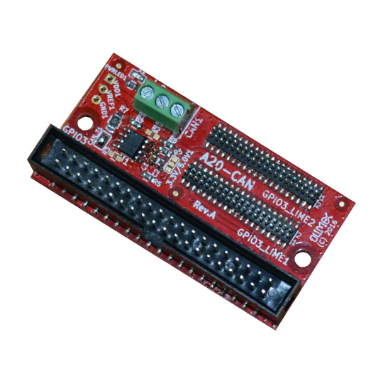 A20-CAN – new OSHW board designed with KiCAD adds CAN networking to A20-OLinuXino and A20-SOM