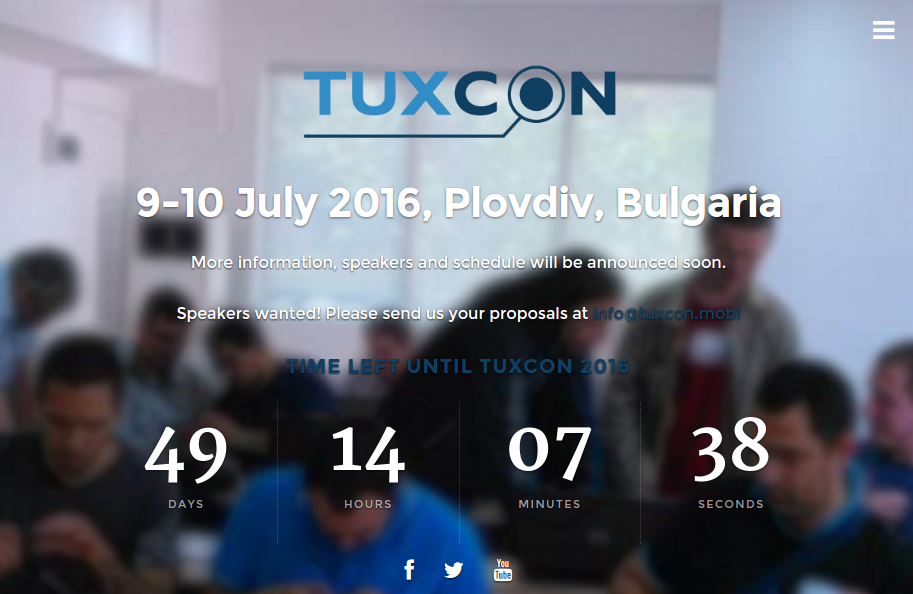 TuxCon 2016 schedule is now completed