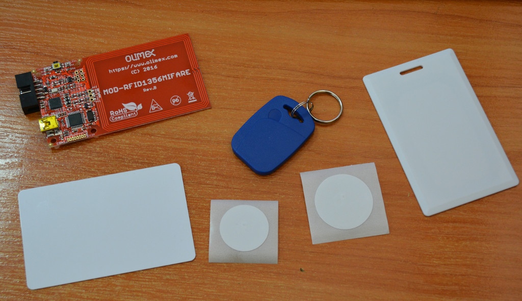 RFID 13.56 Mifare Classic 1K tags with NXP MF1S50yyX/V1 chipset in stock