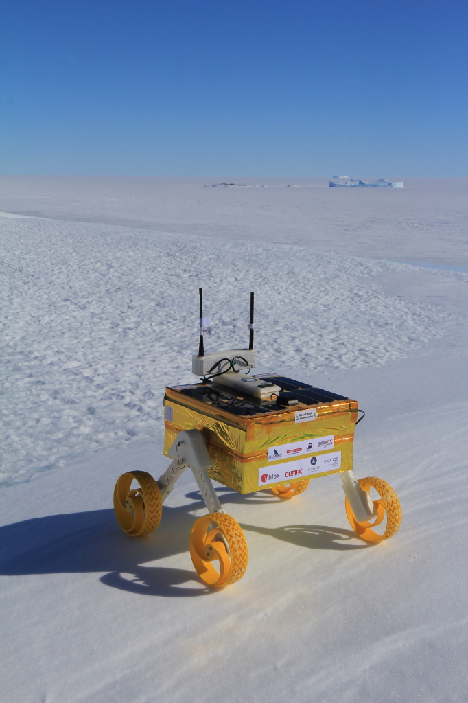 A20-OLinuXino-MICRO works hard inside Open Source Rover Octanis project in freezing Antarctica!