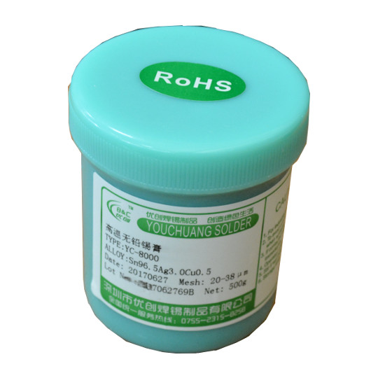 New soldering products in stock: Solder paste and soldering wire