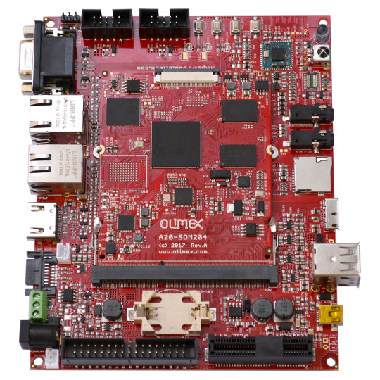 New Universal System On Module in SO-DIMM 204 pin form factor | olimex