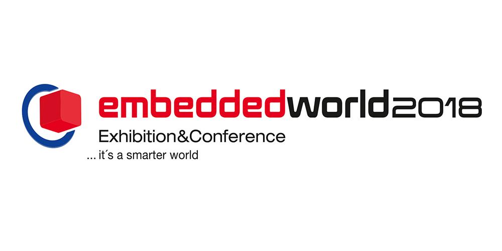 Embedded World 2018 is next week in Nürnberg