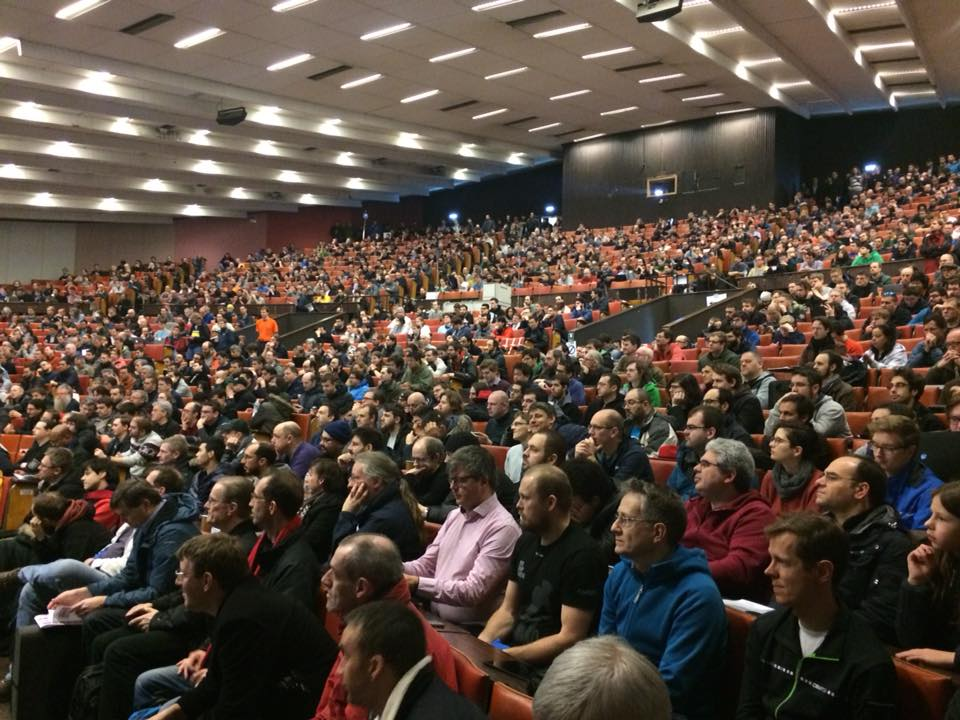 This is FOSDEM 2018