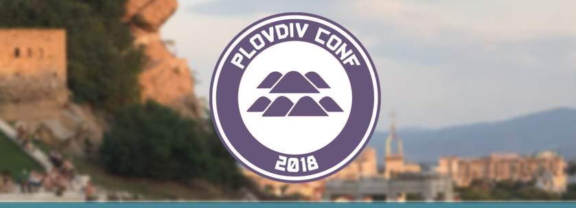 PlovdivConf 2018 is this Saturday!