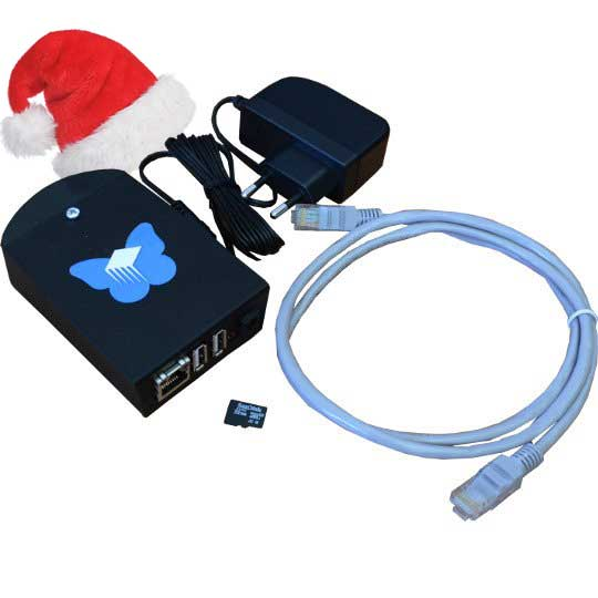 Christmas promotion for Pioneer-FreedomBox-HSK – upgrade to 128GB for EUR 0.01!