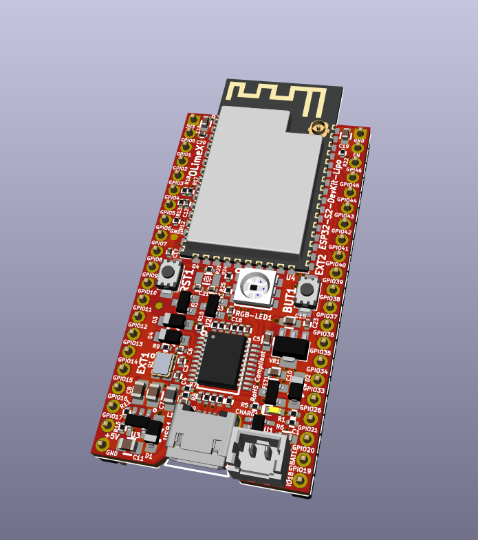 New open source hardware board ESP32-S2-DevKit-Lipo breaks our internal record for ESP32 low power consumption