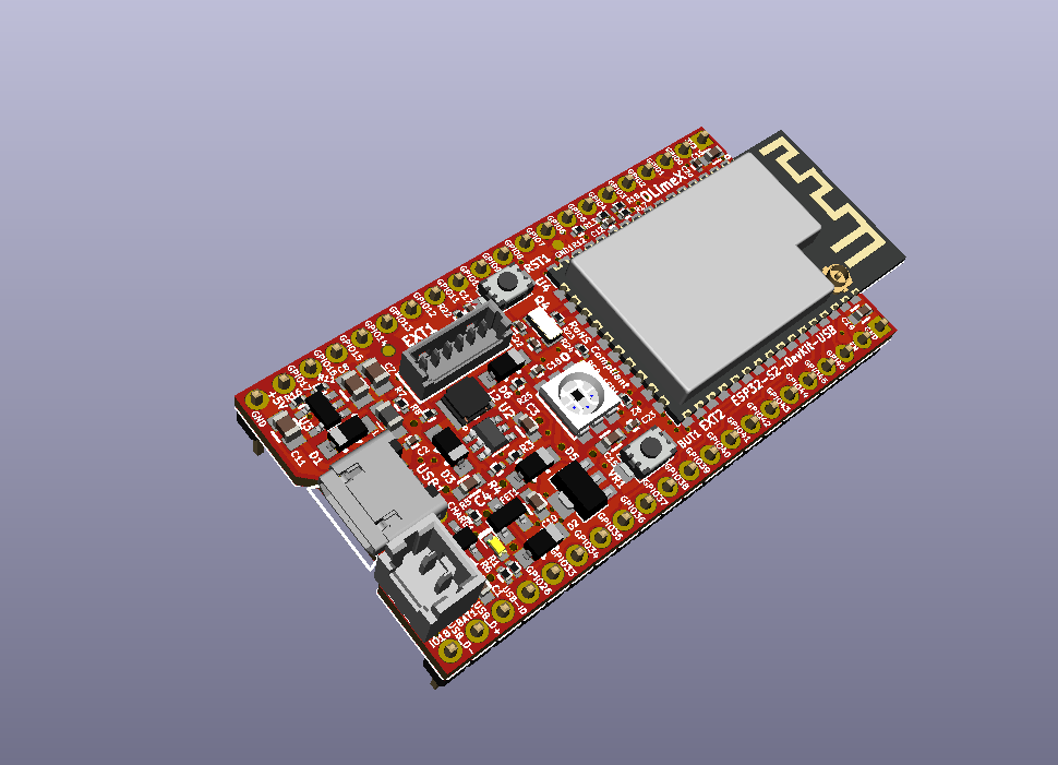 New Board with ESP32-S2 with LiPo charger unleash the native USB-OTG functionality