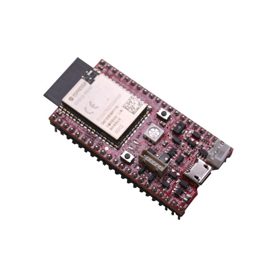 New Open Source Hardware OSHW board with ESP32-S2 have native USB-OTG allowing USB host and device functionality with ESP32-S2 low power modes down to 20uA are possible