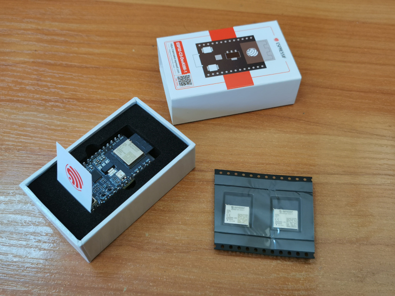 Hello RISC-V! We got samples of the new ESP32-C3 module and it is only 13×17 mm